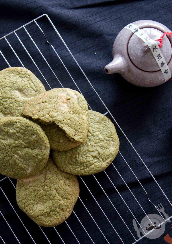 Matcha & White Chocolate Cookie Recipe
