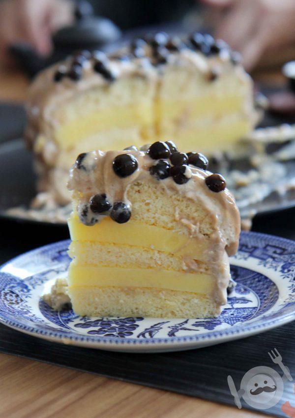 Bubble Tea Cake