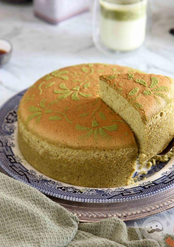 Matcha Sponge Cake Recipe