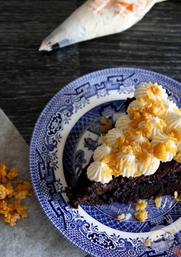 30min Kladdkaka – Swedish chocolate cake recipe