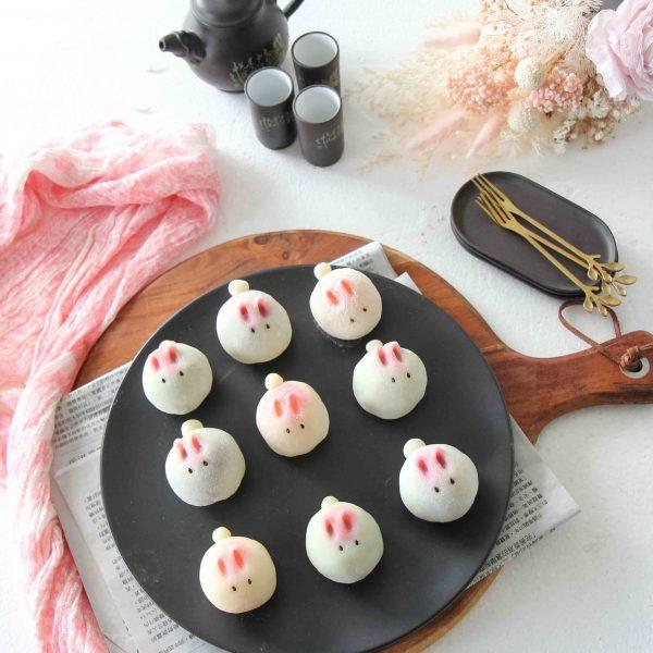 Bunny Snowskin Mooncake Recipe